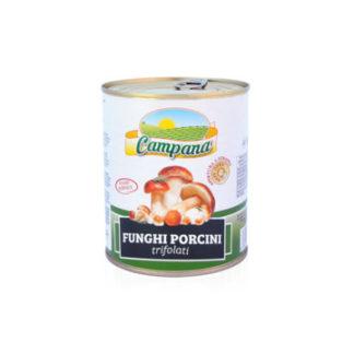 FUNGHI PORCINI TRIF.gr.850 Campana (IN LATTA)